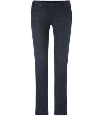 Tall 36in Blue Studded Jeggings