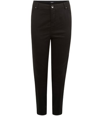 Plus Size 30in Black Skinny Jeans