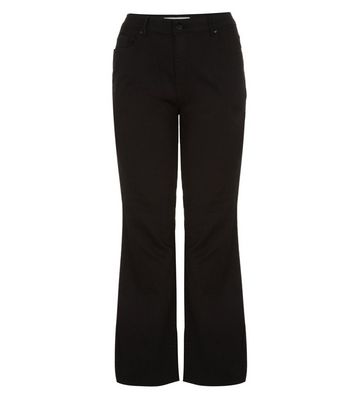 Curves 26-36in Black Bootcut Jeans