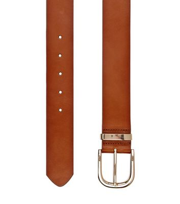 Tan Premium Leather Jeans Belt