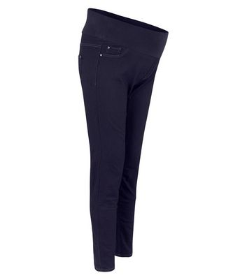 Maternity Navy Under Bump Jeggings