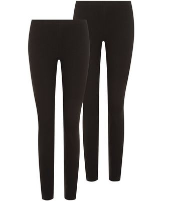 Lot de 2 leggings noirs