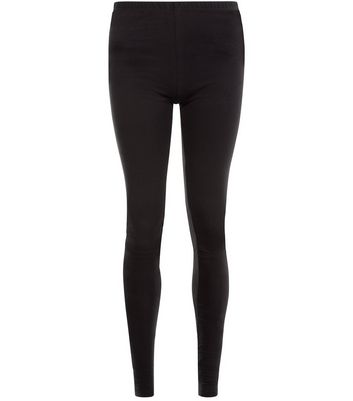 Tall Black Extra Long Leggings