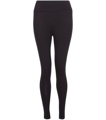 Petite Black High Waisted Leggings