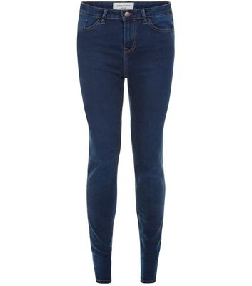 Tall – Superweiche superenge Skinny-Jeans in Blau, 36 Zoll