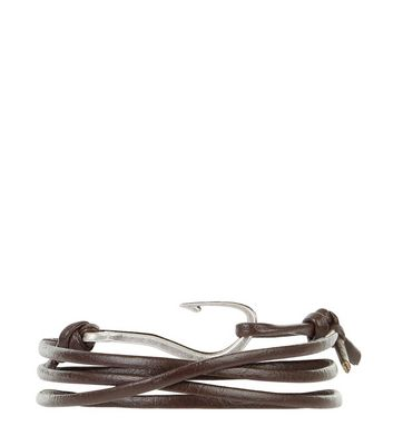 Grey Anchor Bracelet