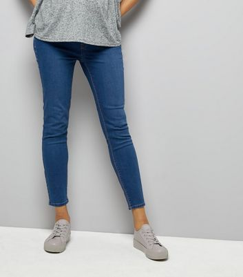 Maternity Blue Under Bump Jeggings