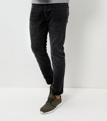 Dark Grey Slim Fit Jeans