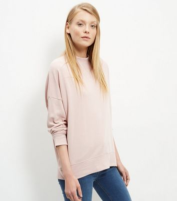 Shell Pink Balloon Sleeve Sweater