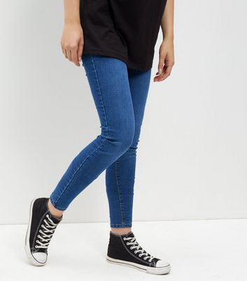 Tall Navy Jeggings