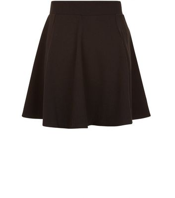 Teens Black Skater Skirt