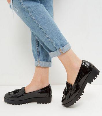 Chunky Loafers - Black Nouveau Pas Cher xP45ysT5Z