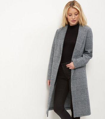 manteaux femme manteaux longs et en cuir new look. Black Bedroom Furniture Sets. Home Design Ideas