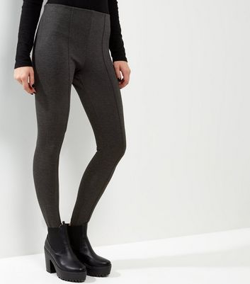 Dark Grey Stirrup Leggings
