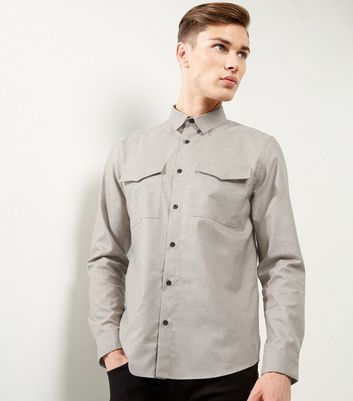 Mink Double Pocket Shirt