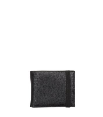 Black Elasticated Wallet