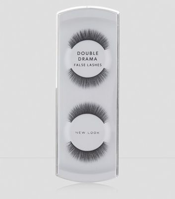 Black Double Drama False Lashes