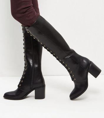 toutes les chaussures femme bottines et bottes new look. Black Bedroom Furniture Sets. Home Design Ideas