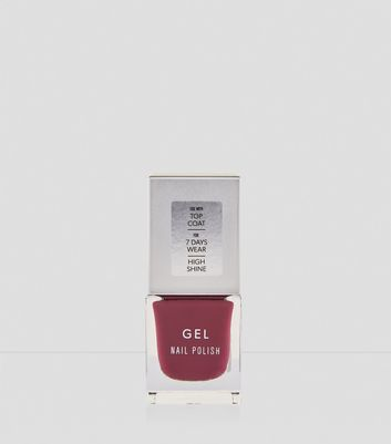 Berry Red Gel Nail Polish