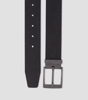 Black Tapered End Belt