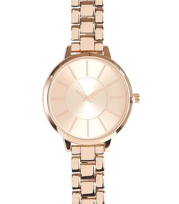 Rose Gold Sports Watch