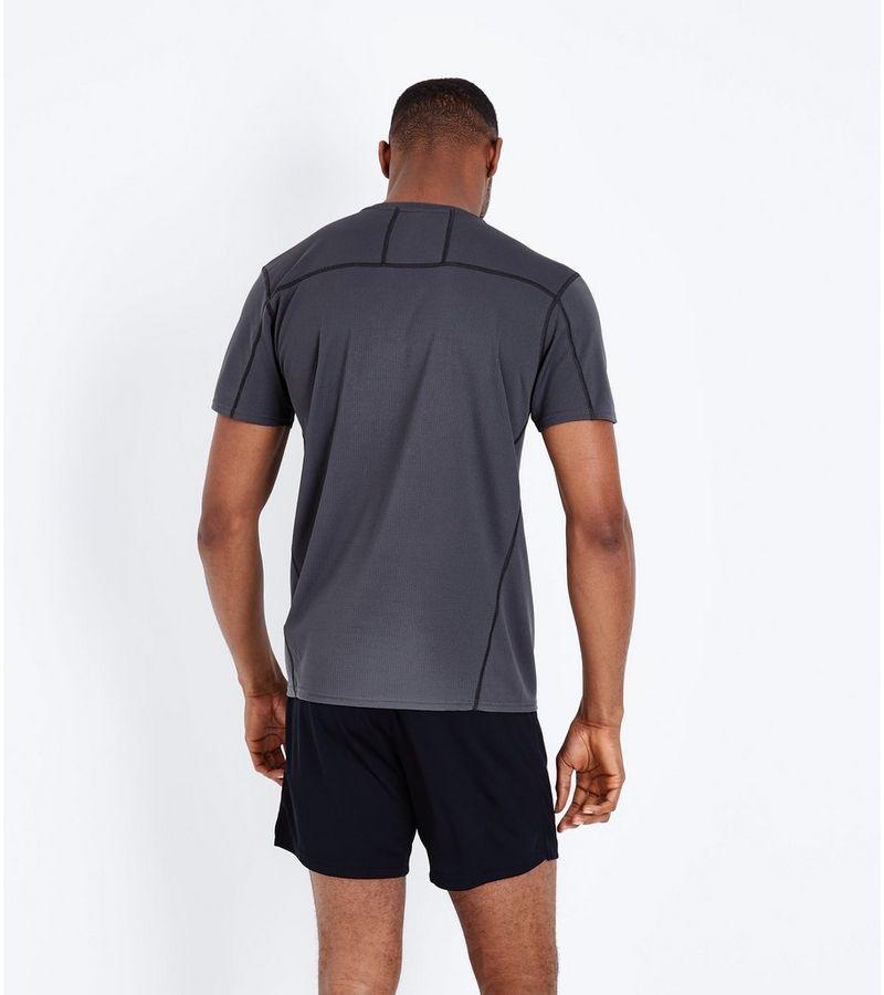 New Look - sport-t-shirt aus netzstoff - 3