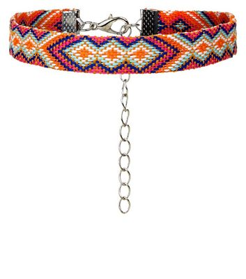 Multicoured Pattern Anklet