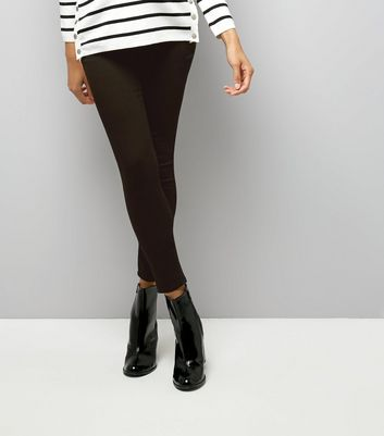 Maternity Black Under Bump Jeggings