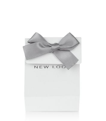 Small White Ribbon Gift Bag