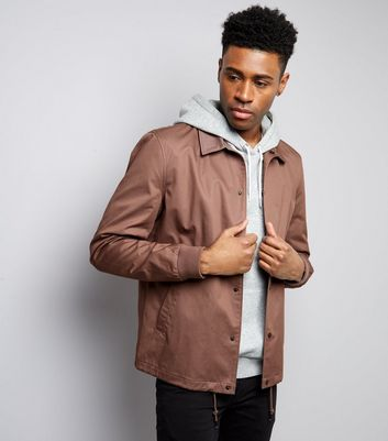 Dark Purple Coach Jacket