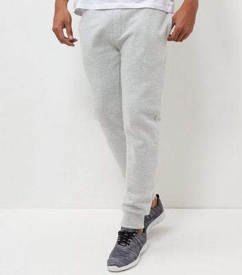 Grey Marl Basic Joggers