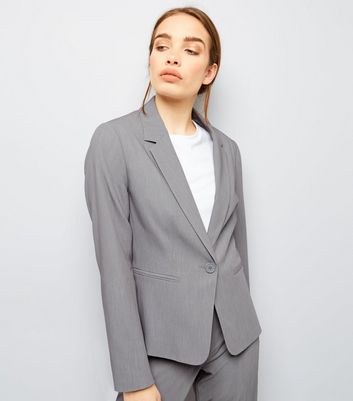 Pale Grey Suit Jacket