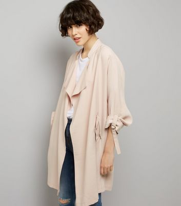 Pink Waterfall Duster Jacket
