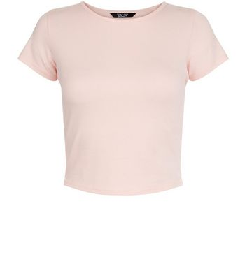 Ados - T-shirt rose court