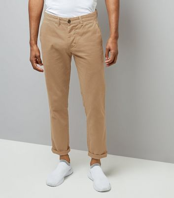 Stone Slim Leg Chino Trousers