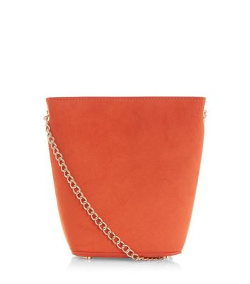 Mini sac sceau orange