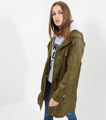 Tall Khaki Lightweight Parka