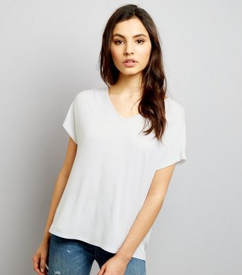 Cream Eyelet Trim Tie Back Woven Top
