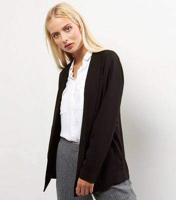 Black Soft Blazer