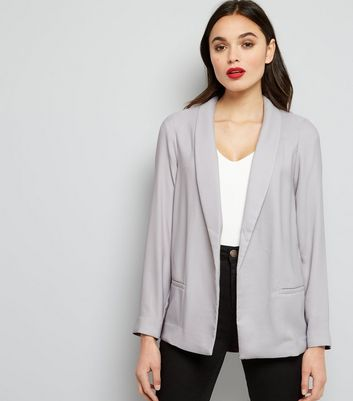 Grey Soft Blazer