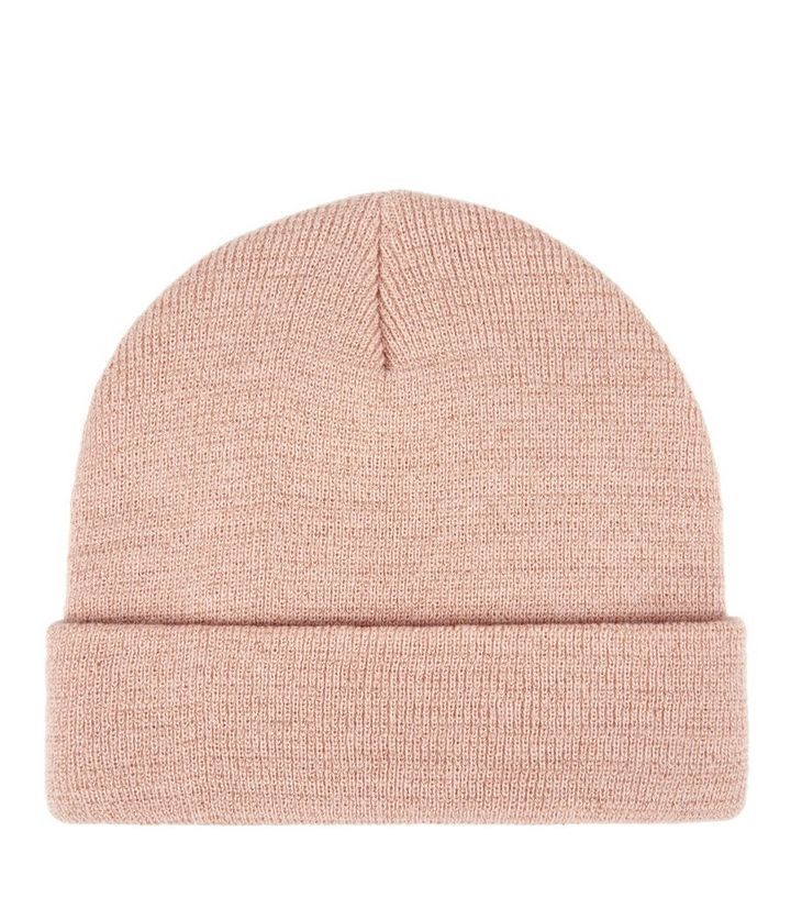 Bonnet rose pâle | New Look