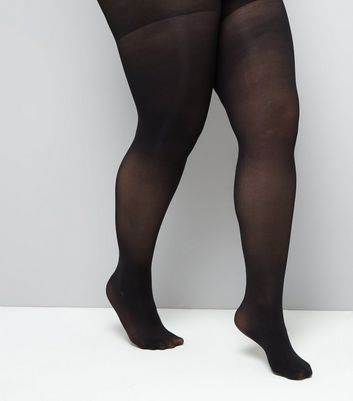 Curves Black 40 Denier Shaping Tights