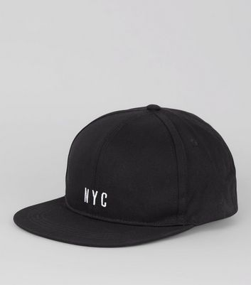 Black NYC Embroidered Cap