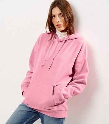 Bright Pink Oversized Hoodie