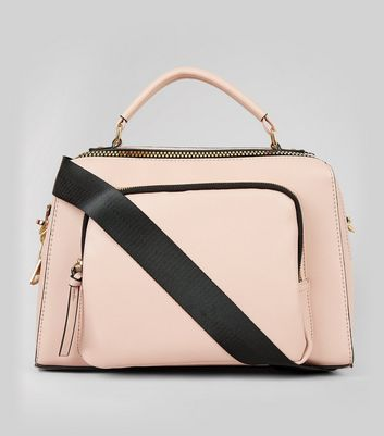 Pink Chunky Zip Luggage Bag