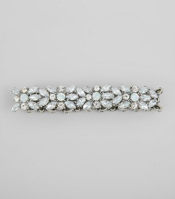 Crystal Floral Stretch Bracelet