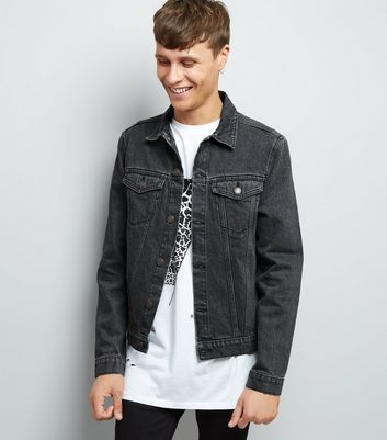 Grey Denim Jacket