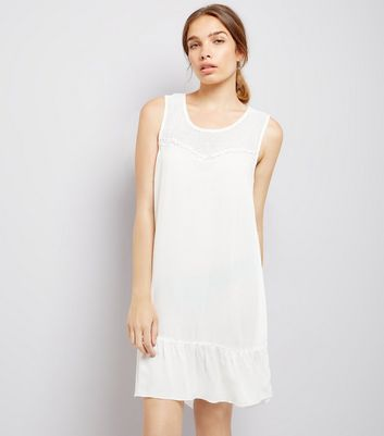 JDY White Sleeveless Dress