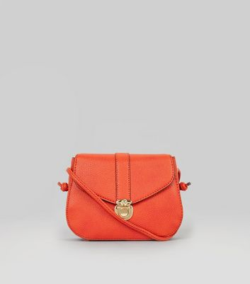 Orange Mini Saddle Bag