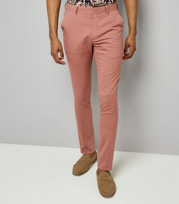 Deep Pink Suit Trousers